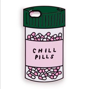 🆕Silicone iPhone X Case - Chill 💊 pills